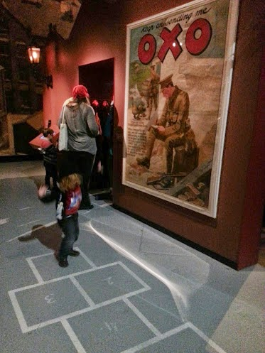 Hopscotch at the Imperial War Museum North