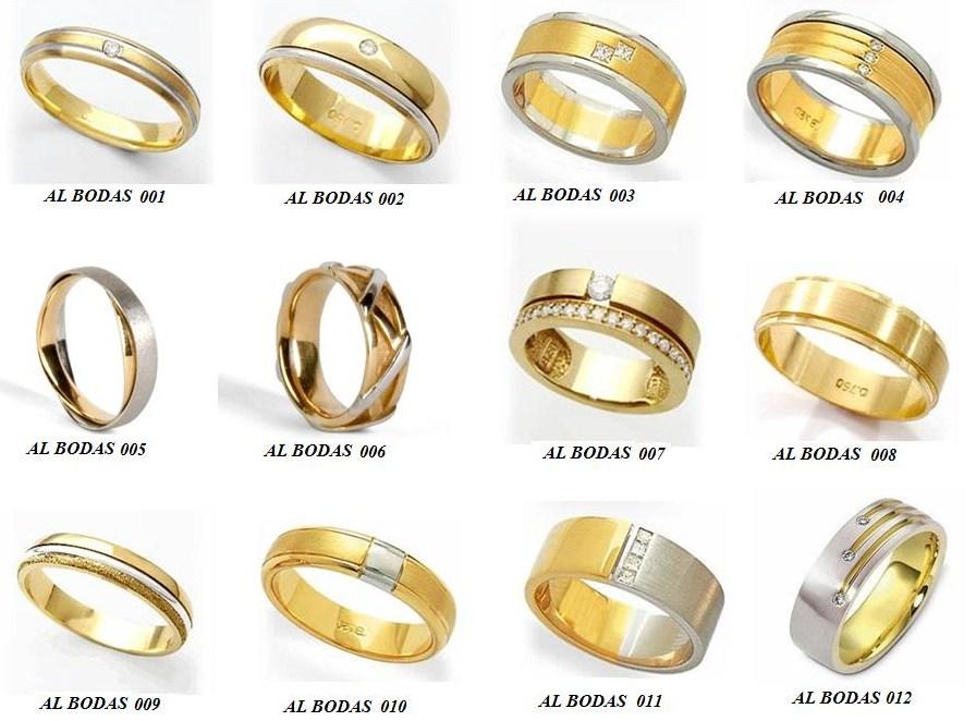modelos de alianças de bodas