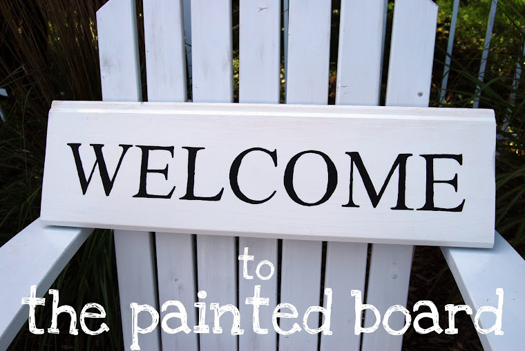 the painted board