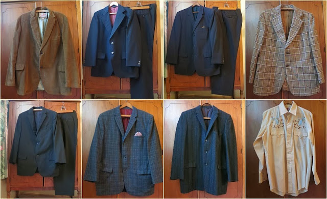 mens vintage clothing, mens vintage suits