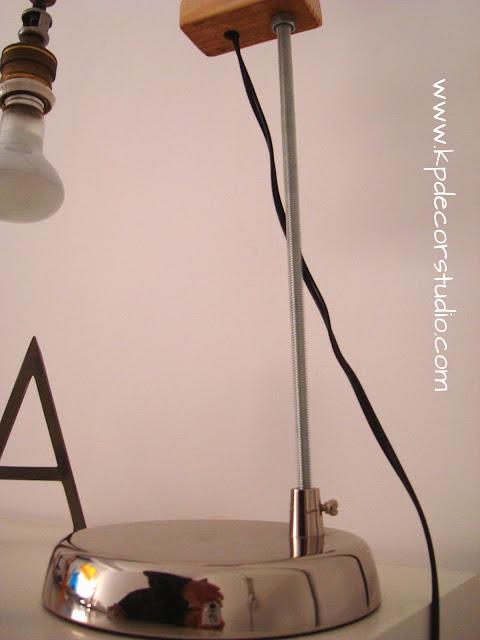 Comprar lampara artesanal vintage. Tienda online de decoración