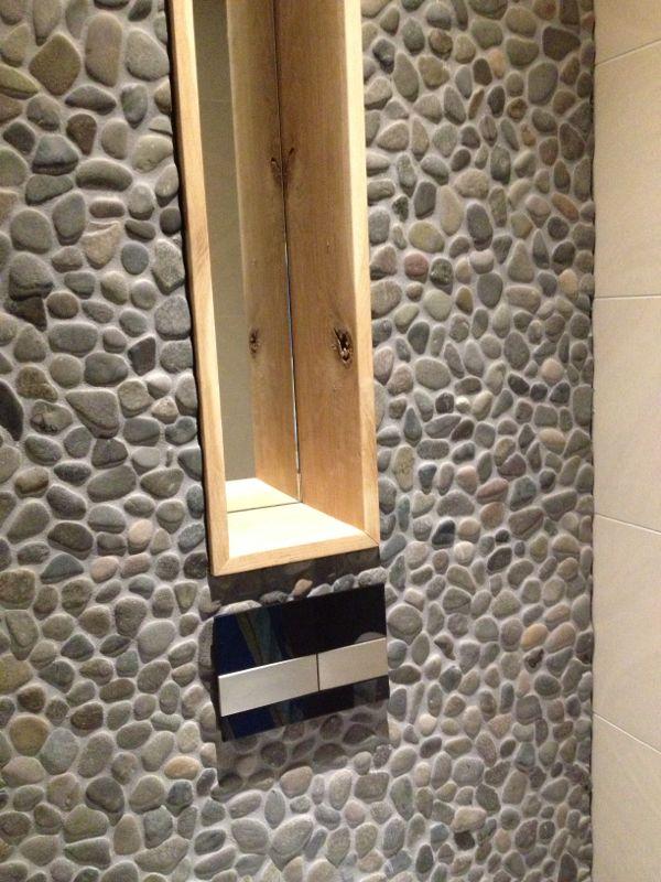 Maiko en debby bouwen hun droomhuis we naderen het einde - Wandtegels voor badkamers ...