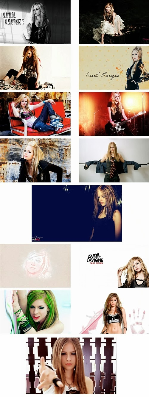 Avril Lavigne Theme For Windows 7 And 8 8.1