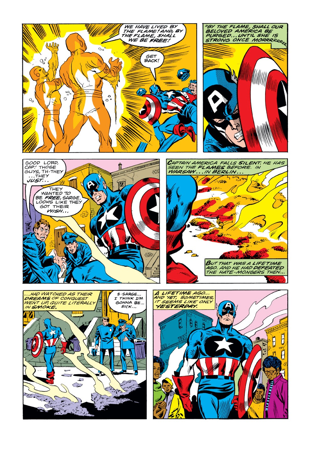 Captain America (1968) Issue #232 #147 - English 6