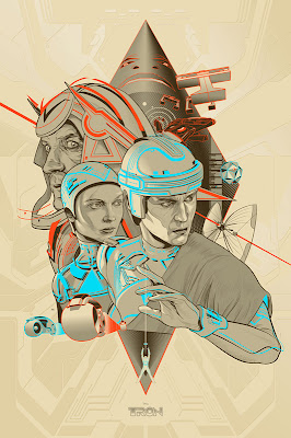 TRON Screen Print Set by Martin Ansin - TRON