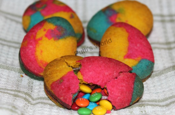 Easter Pinata Cookies with Candy