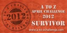 2012 A-Z Challenge Survivor