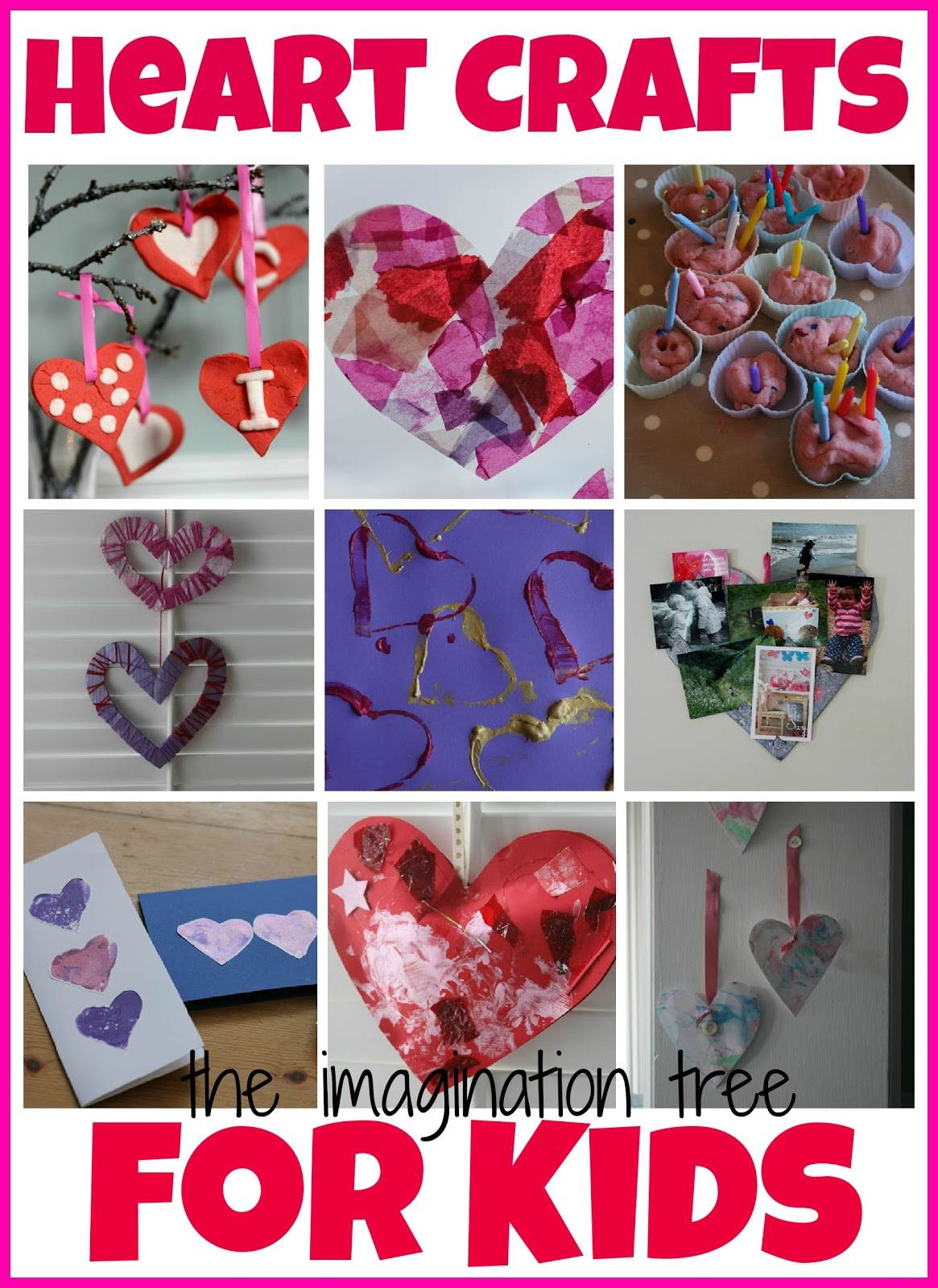 Valentiness Day Heart Crafts and Activities for Kids Crafts For Kids Ages 8-12 Printables