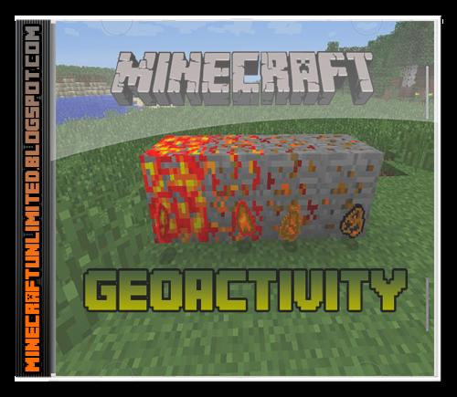 Geoactivity Mod Minecraft carátula