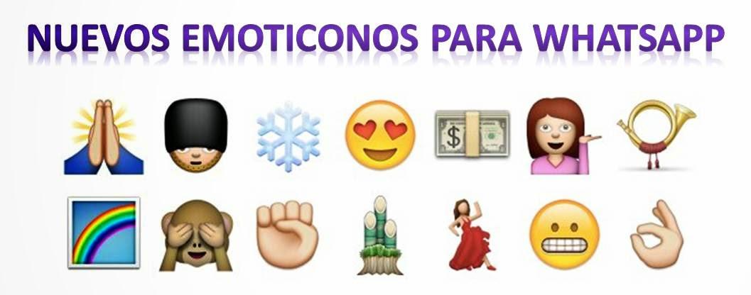 Nuevos Emoticonos WhatsApp 2014