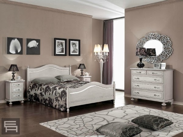 Consigli per la casa e l 39 arredamento imbiancare casa il - Camera da letto laccata bianca ...