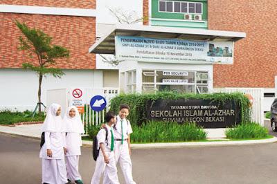 Al Azhar Membangun Sekolah di Bekasi