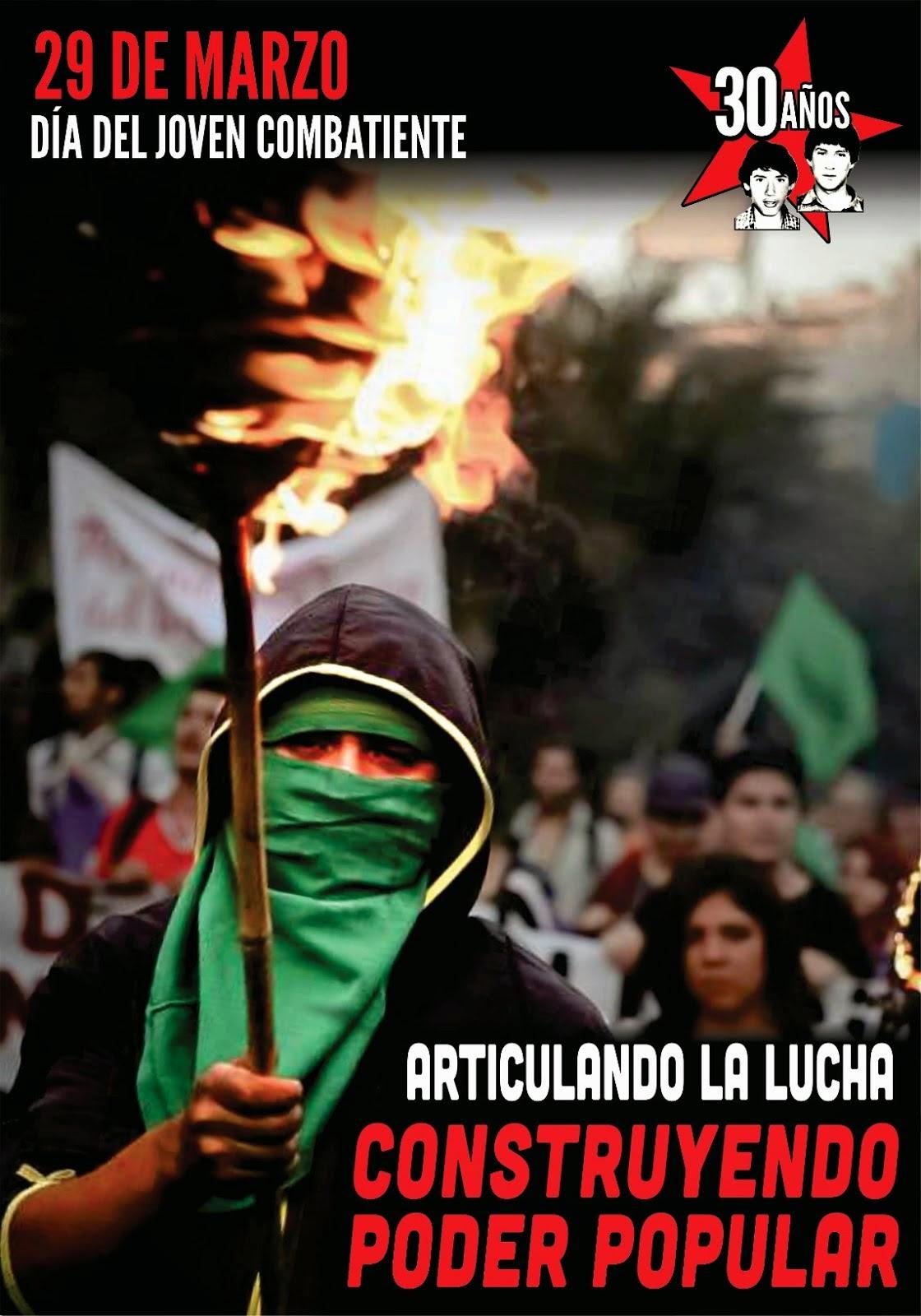 EDUARDO Y RAFAEL CAMINAN DIGNOS Y REBELDES ENTRE EL PUEBLO QUE LUCHA!!