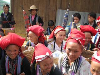Ethnies Dao, Lao Cai