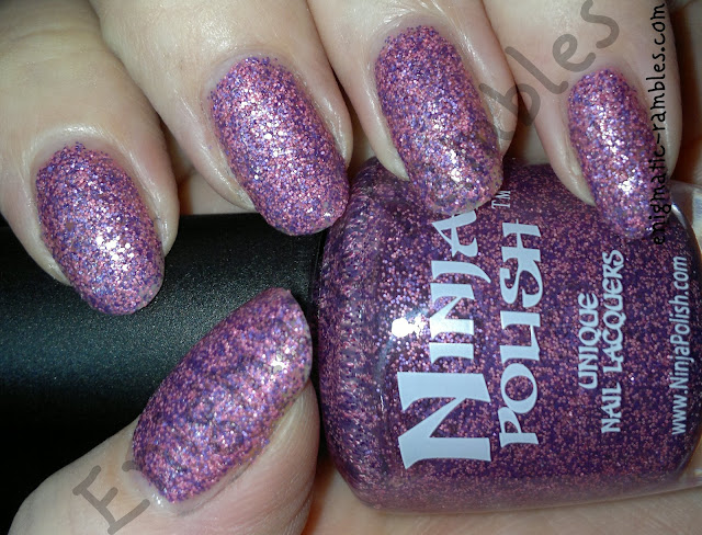 swatch-girly-floam-ninja-polish-nail-Venturous-nail-polish-matte-glitter-enigmatic-rambles
