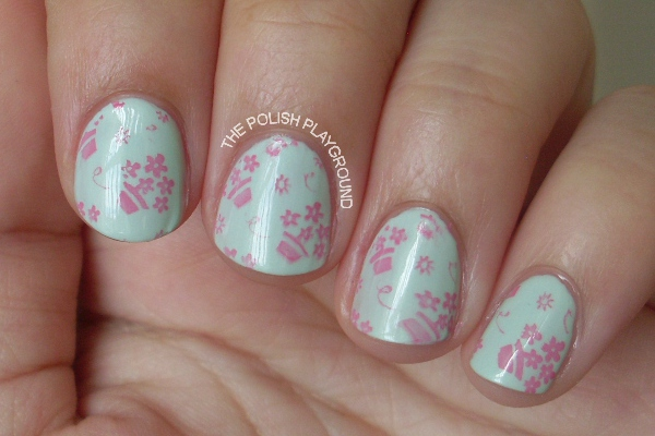 Floral Stamping