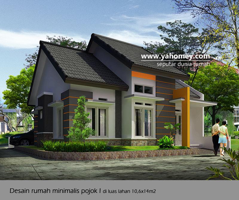 Desain Rumah Minimalis Pojok Dilahan Xm Free Design