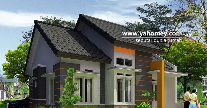 Seputar Dunia Rumah: Desain Rumah Minimalis Pojok dilahan 10,6x14m2 ...
