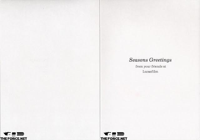 lucasfilm christmas card 2013