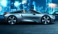 BMW i8 Concept Spyder Wallpaper 04