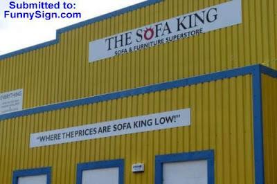 funny stuff - sofa king