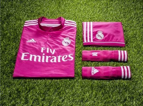 Adidas Released 2014/15 Real Madrid Home and away kit