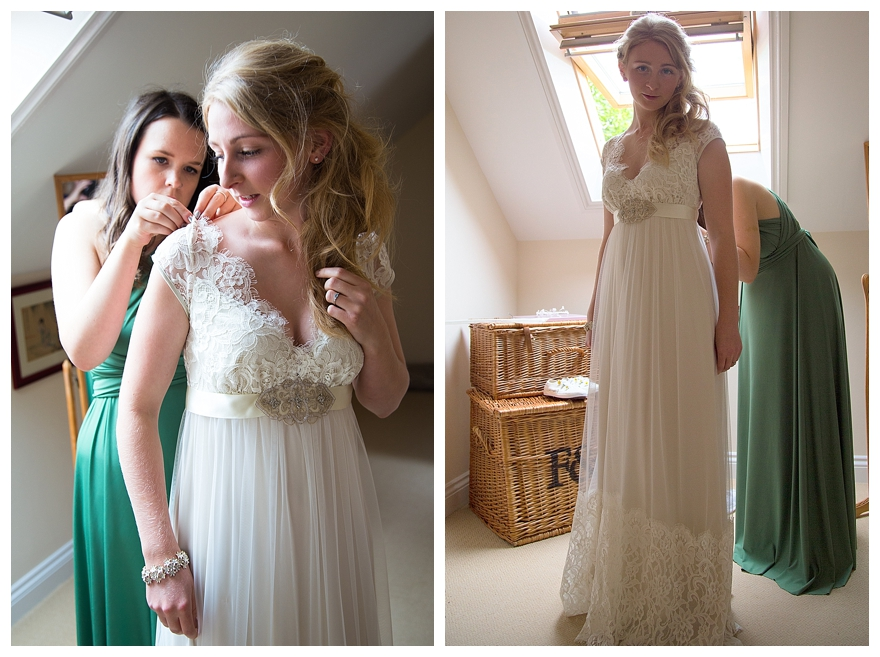 Country Wedding Dress Lace
