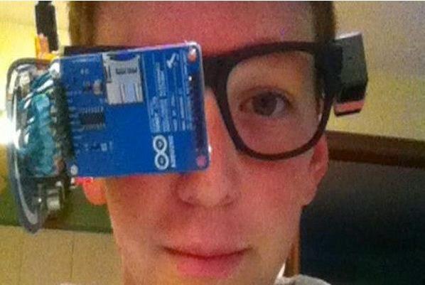 karajito de 13 años las Google Glass baratas