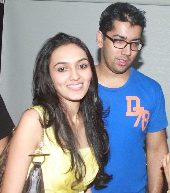 Son Rohit Dhawan in Goa