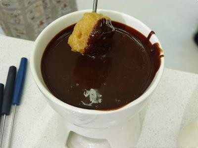 Fondue de chocolate fácil