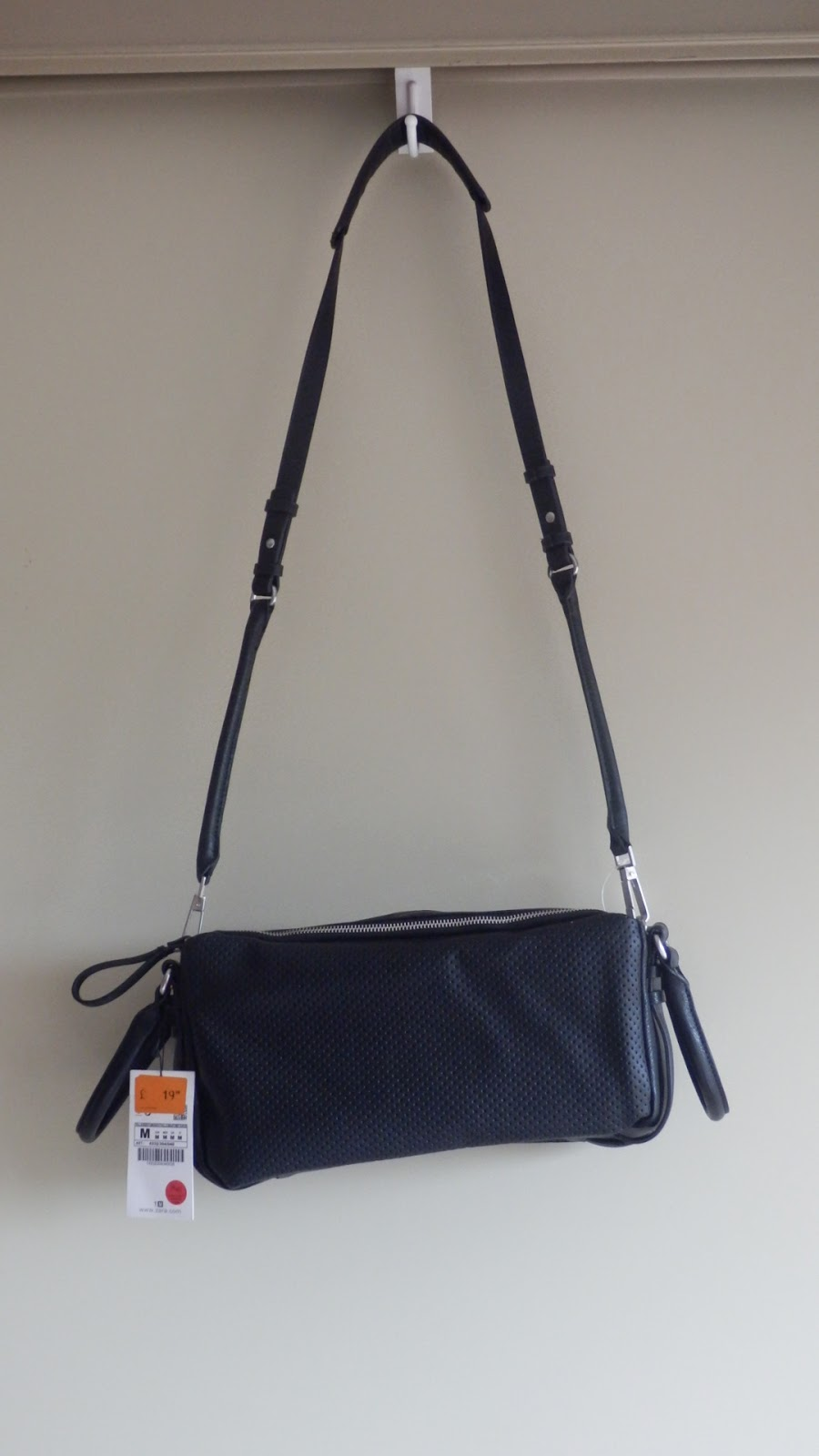 Zara Black Shoulder Bag