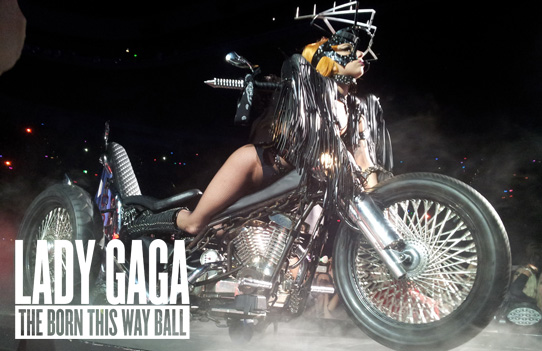 Lady Gaga The Born This Way Ball no Brasil