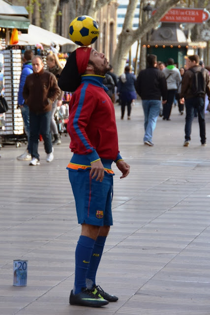 La Rambla Barcelona FC Football