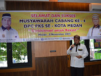 Dalam Sehari, PKS Kota Medan Lakukan Rotasi Kepemimpinan Tingkat Kecamatan