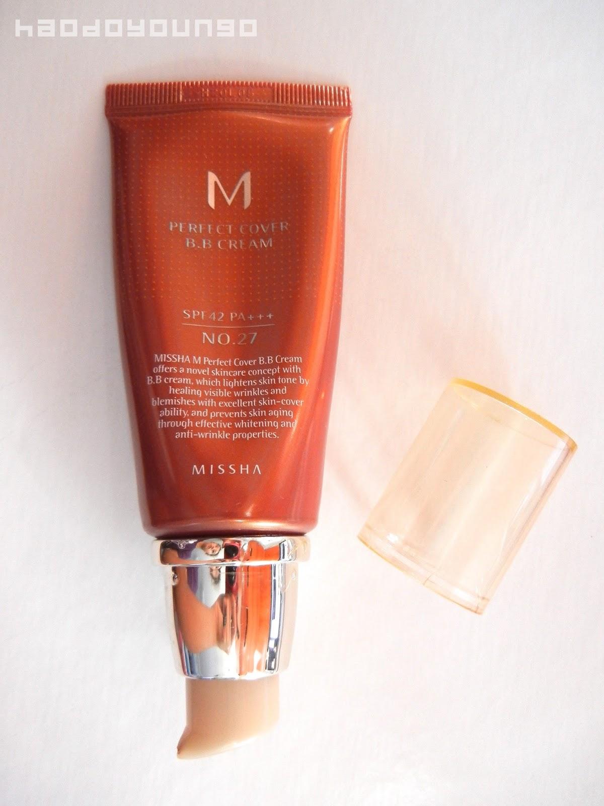 Missha 27 bb cream
