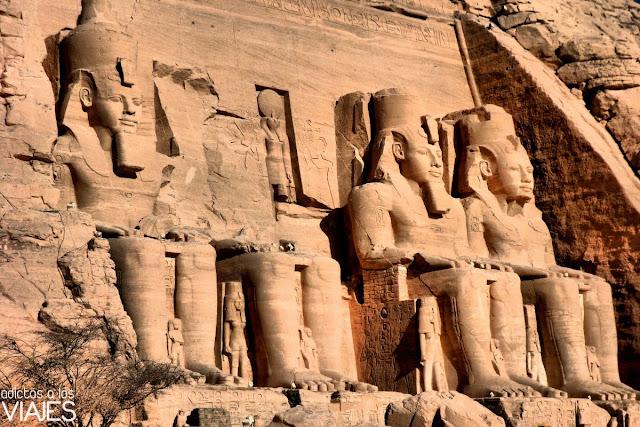 templo de abu simbel egipto