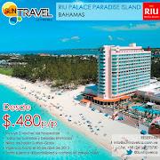 El Hotel Riu Palace Paradise Island (Todo Incluido 24h) situado en la . (suntravel riupalaceparadiseisland)
