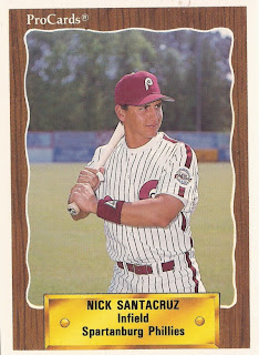 Nick Santa Cruz went out for his sophomore season at Rancho Santiago
