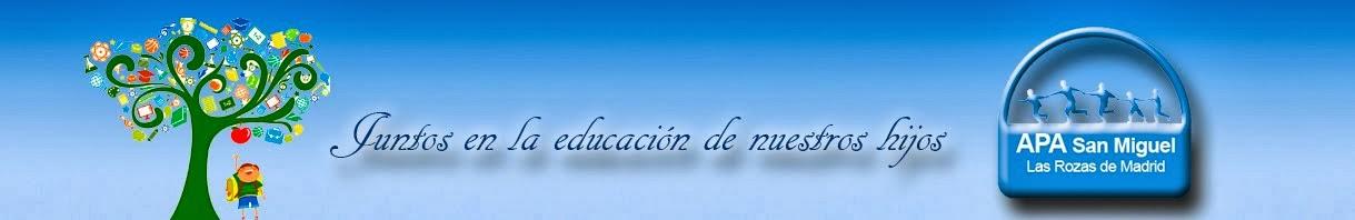 APA del CEIP San Miguel   Las Rozas (Madrid)