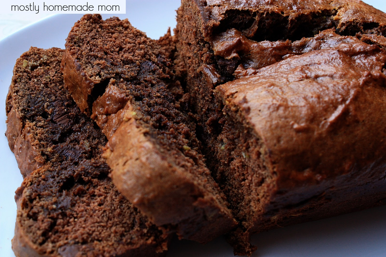Secret Ingredient Chocolate Banana Bread | Mostly Homemade Mom