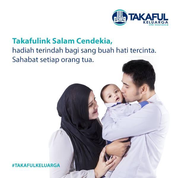 Takafulink Salam Cendekia = Asuransi pendidikan + kesehatan + dll