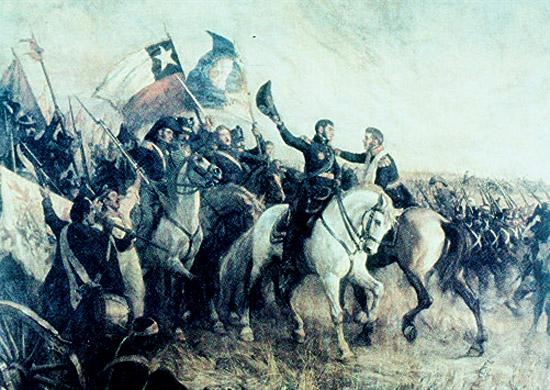 el 10 de febrero de 1824 disgustado por las guerras