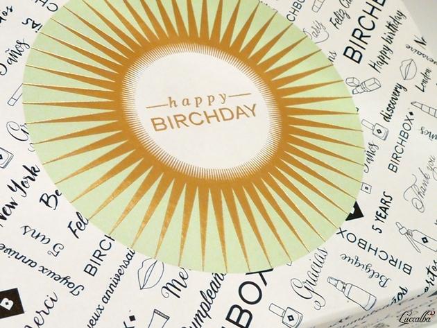 Birchbox Septiembre 2015