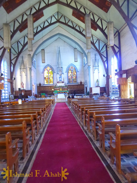 Aisle of the Puerto Princesa Cathedral