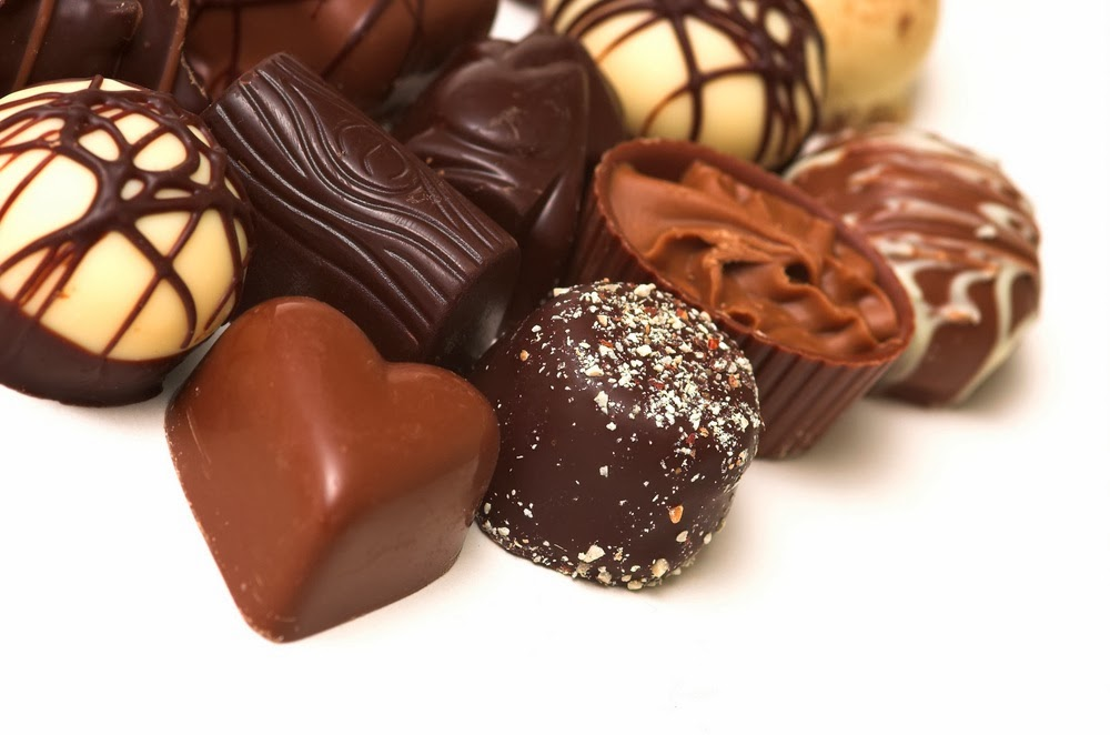 Chocolates Filled With Flavonoid