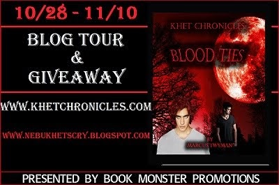 BLOOD TIES Blog Tour