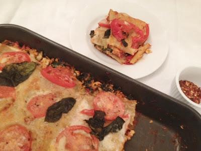 Tofu Kale Lasagna Recipe