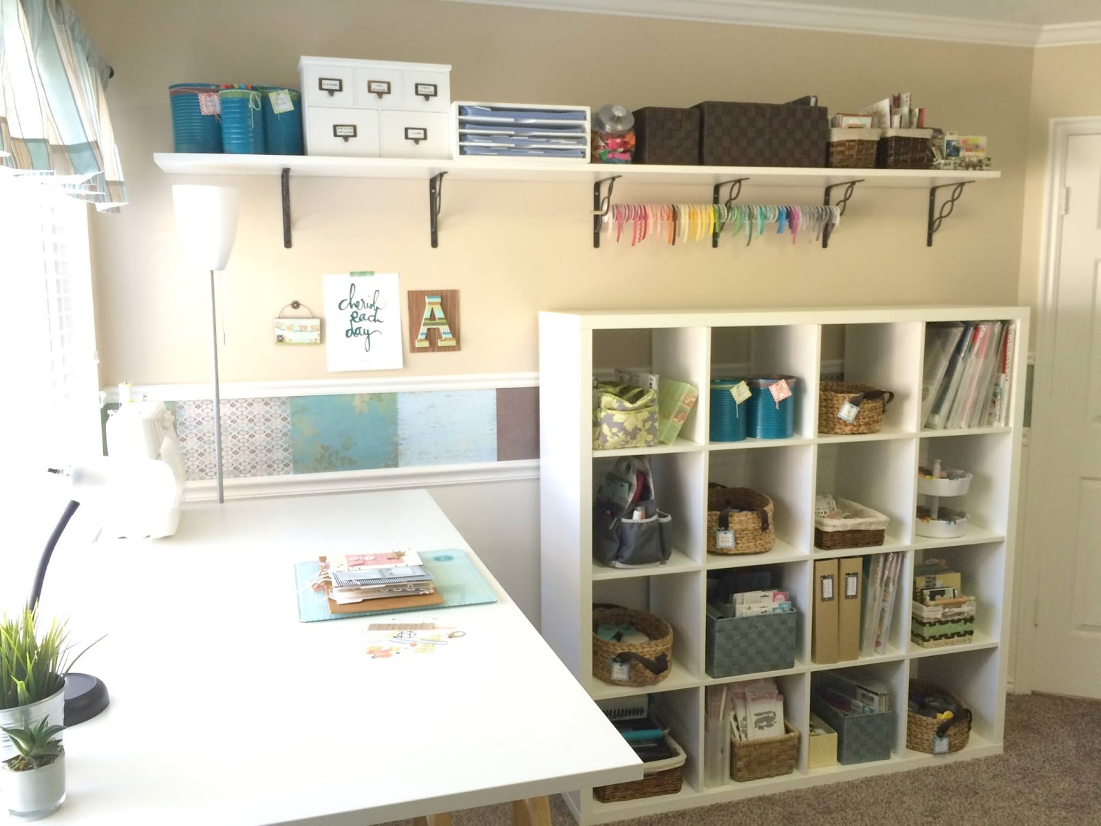 Images Of Craft Rooms Aly Dosdall Craft Room Redo