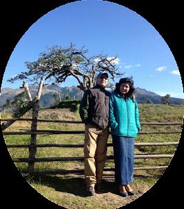 Con mi amada esposa