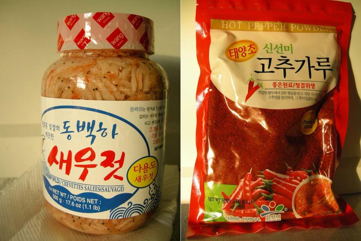 Baby Shrimps und Gochugaru